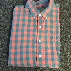 J. Crew Short Sleeve Button Down Shir